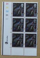 GB STAMPS: SCOTLAND (UK REGIONAL) 78p :: CYL BLOCK :: SG S121 x 6