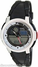 Casio AQF102W-7B Outgear Mens Digital Sports Thermometer Watch Resin Band