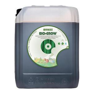 BioBizz Bio-Grow Organic Fertilizer Liquid Plant Food Growth Nutrient - 10L