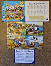 RAVENSBURGER THOMAS & FRIENDS 4 IN A BOX JIGSAW PUZZLES | 10% TO NHS CHARITIES
