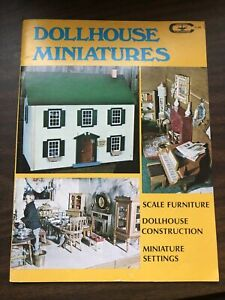 September 1977 Carstens Publications Creative Crafts - Dollhouse Miniatures