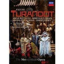GULEGHINA/POPLAVSKAYA/GIORDANI/MET/+ - TURANDOT  DVD OPER NEU PUCCINI