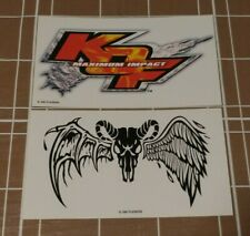 King of Fighters Maximum Impact e3 2004 Promo Sticker Lot Rare Swag SNK PS2 KOF