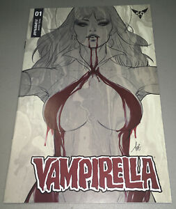 VAMPIRELLA #1 Dynamite 1:15 ARTGERM SNEAK PEEK FOC VARIANT