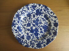 Burleigh Ware ARDEN Pattern Blue & White Side Plate 7.5 inches