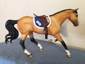 BREYER HORSE #701196 FIRST COMPETITOR BUCKSKIN on GEM TWIST MOLD, LE #0406/5000