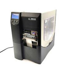 Zebra Zm400 Industrial Thermal Label Printer 300dpi 4sec 409 Wide 90 265vac