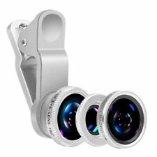 Professional iPhone Mobile Phone Camera Lens Photo Kit Fish Eye Macro Wide Angle