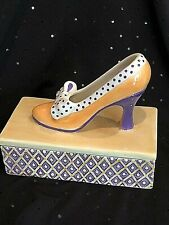 Fitz and Floyd Shoe Covered Box