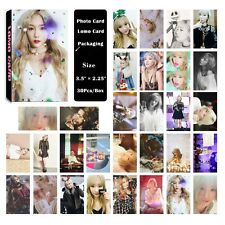 Fashion Cute 30pcs /Box Kpop Girls' Generation Taeyeon Photo card Lomo card