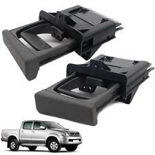 Fit 2005-2015 Toyota hilux SR5 KUN pickup Pair Dash Cup Holder Grey After Market