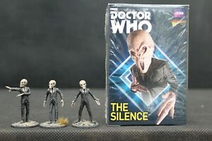 Doctor Who The Silence expansion Warlord Games with well painted miniatures set4
