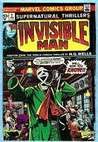 Supernatural Thrillers #2 , The Invisible Man ,