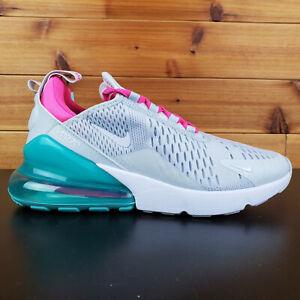 Nike Air Max 270 Running Shoes White South Beach AH6789-065 Women's Sizes