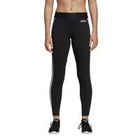 adidas Damen Perfomance Fitnesshose Essentials 3-Streifen Tight schwarz