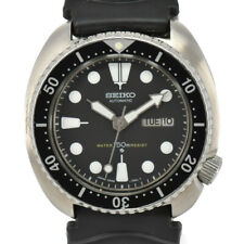 SEIKO 3rd diver 150m 6309-7040 Day&Date Black Dial Automatic Men's Watch M#95560