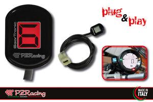 Kawasaki Ninja 1000 Z1000 /SX 2010-16 PZRacing Zero Plug&Play LCD Gear Indicator