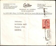 AARG-310,ARGENTINA 1965 BUENOS AIRES-COVER METER CANCEL MEDICINE FIGHT LEUCEME