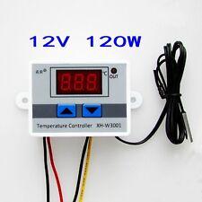 DC12V Digital LED Temperaturregler 10A Thermostat Control Switch Probe