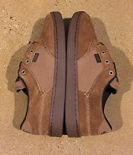 DVS Quentin Brown Gum Suede Size 8 US Men's BMX DC Skate Shoes Sneakers