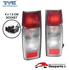Pair LH+RH Tail Light Lamp For Nissan Navara D21 D22 Ute 36cm Hook Type 99~06