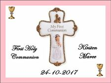 HOLY COMMUNION GIRL A4 REAL KOPYKAKE EDIBLE ICING IMAGES CAKE TOPPERS