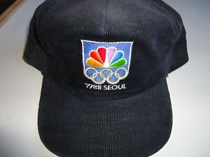 *EXCELLENT* CONDITION Vintage NBC Peacock 1988 Seoul Olympics Cap.  Made in USA.