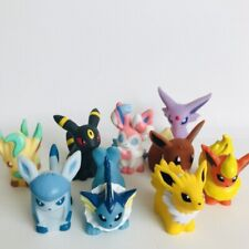 9pcs Eevee Evolution Pokemon Nintendo Bandai Toy Figures Set Umbreon Espeon a