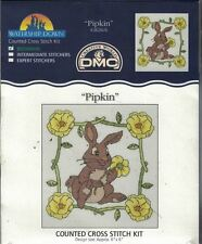 Watership Down PIPKIN Bunny Counted Cross Stitch Kit K3826US New Sealed