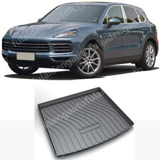 For Porsche Cayenne 18-2020 Car pad Cargo TPO Mat Rear Trunk Tray Liner Carpet