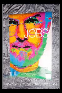 GFA Job Steve Wozniak JOSH GAD Signed Full Size Movie Poster AD1 COA