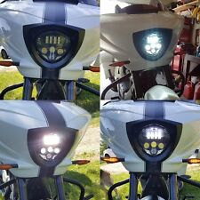 VICTORY MOTORCYCLES BLACK LED HEADLIGHT 2010-2016 CROSS MODELS, 10-16 CRUISERS