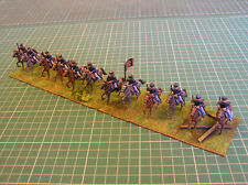 12 x PAINTED UNION CAVALRY AMERICAN CIVIL WAR ACW 25mm 28mm MINIFIGS