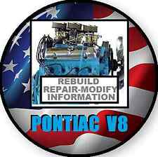 PONTIAC V8 ENGINE REPAIR WORKSHOP MANUAL 326 350 389 400 428 455 CD
