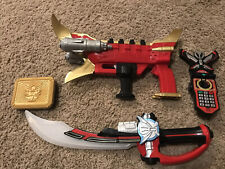 Power Rangers Super Megaforce Lot Cosplay Cannon Blaster Mega Sabre Morpher