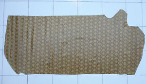 Leather Hide Brown Snake Print Embossed Cow Skin Approx 12 sq/ft Crafts