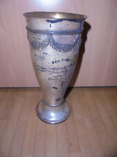 29076 alter Pokal 1924 Knaben Hochsprung Heidenau Stadionweihe Sportverein 23cm