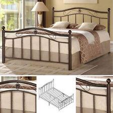 Queen Metal Bed Frame Bedroom Furniture Headboard Footboard Rails Slats Platform