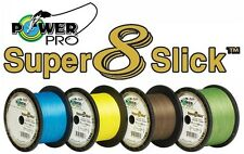 Power Pro Super 8 Slick Hi-VIS Yellow 30 lb 300 yards New Genuine! Fast Shipping