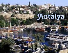 TURKEY - ANTALYA - Travel Souvenir Flexible Fridge Magnet