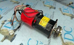 FANUC A06B-0532-B531 4-OS 3 PH 56 V 3000 RPM 8 POLE AC SERVO MOTOR SHAFT # 1