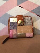 Coach Patchwork Leather Zip Around Wallet L0769-41209