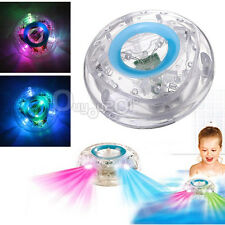 Bathroom Bathing Floating LED Light Kids Children Toy Party in Tub Waterproof