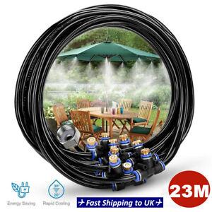 23M Esterno Acqua Spruzzatore Giardino Mister Raffreddamento Patio Sistema Spray