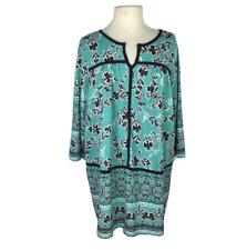 Brakeburn Damen Kleidungsstück Batik Plissiert T-Shirt Neu