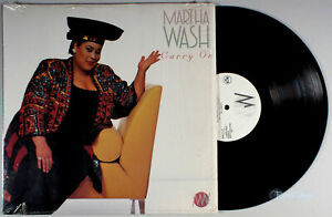 Martha Wash - Carry On (1992) Vinyl LP •PLAY-GRADED• Weather Girls