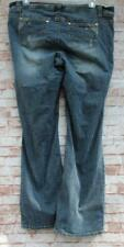 Womens HYDRAULIC Jeans 18 Boot Cut Distressed Ripped Stretch Comfy Plus
