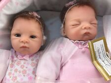 Lifelike Lullaby Twins Baby Girl Dolls Featuring Heather & Hannah Ashton Drake