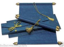 scroll wedding invitation,birthday invitation cards, anniversary invitations S8