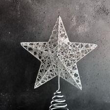 White Star Christmas Tree Topper Gisela Graham